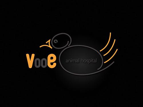 Vooe Animal Hospital Logo Design