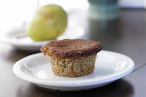 Pear Almond Gluten Free Muffins