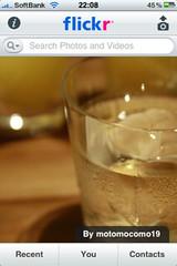 iPhone flickr