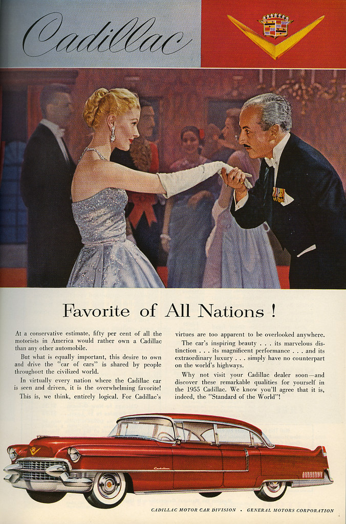 Cadillac ad_June 1955_tatteredandlost