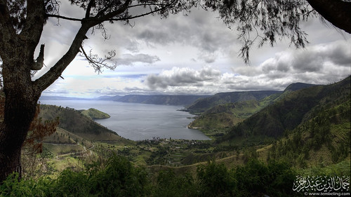 Danau Toba from Sipisopiso.