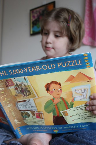 reading The 5000 year old Puzzle