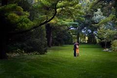 Embrace (jmoreland) Tags: woman man canon engagement kissing couple dress courtyard suit embrace