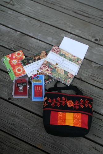 Friendship bag swap - my present