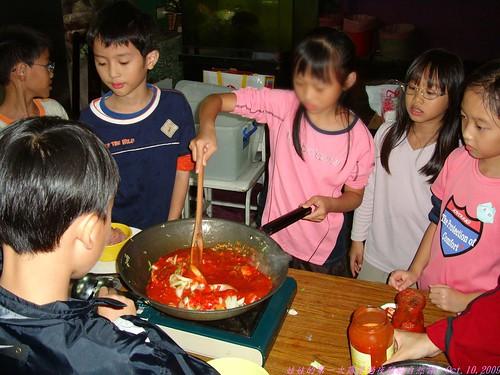 katharine娃娃 拍攝的 30炒義大利肉醬。