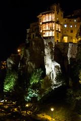 casas colgadas at night (andrewmac666) Tags: espaa night spain nikon roadtrip cuenca casascolgadas d80 hanginghouses 1750mm