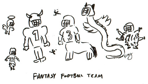 366 Cartoons - 272 - Fantasy Football Team