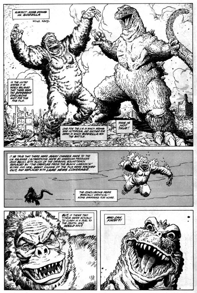 Godzilla Urban legend