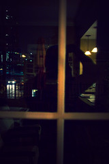 365 | Y2 | 223 [it's dark outside] (ja | castillo) Tags: shadow reflection canon raw sp postprocess yourstruly attheoffice slworking ef28135f3556isusm 40d canoneos40d 365daysyear2 viapixelpipe justfukinaround isitreallyconsideredslackingatworkwhenyouarealreadyheadingout notreallysurewherethisisgoing