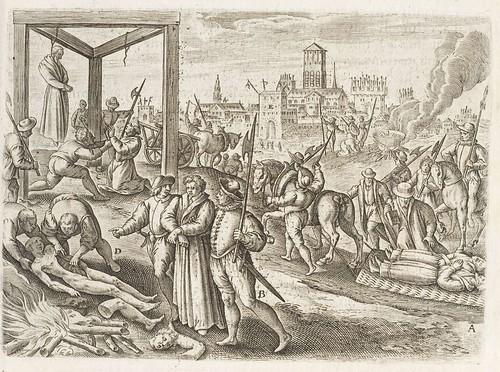 Persecutiones adversus Catholicos à Protestantibus Caluinistis excitae in Anglia f