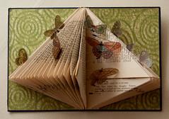 Altered Book: The Butterfly Effect (SOLD) (Rachael Ashe) Tags: paper book artwork sold butterflies alteredbook bookart