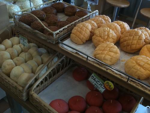 海ほたるのメロンパン屋