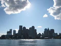 Boston, from the harbor