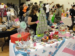 The Sassy Crafter at GLAM 2009 (sassycrafter) Tags: holiday art booth handmade sassy craft center indie glam local bazaar mart crafter gainesvile sassycrafter boltin thelmaboltincenter glam2009