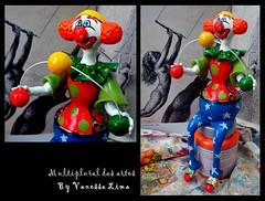 Malabarista (Art Vanessa Lima) Tags: clown artesanato paz palhaos cabaas porongos vanessalima