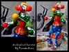 Malabarista (Art Vanessa Lima) Tags: clown artesanato paz palhaços cabaças porongos vanessalima