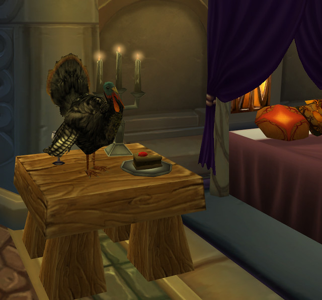 Warcraft Turkey Day Online by Batty aka Photobat