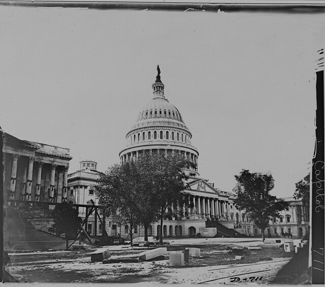 Capitol of the United States Washington DC by The US National Archives