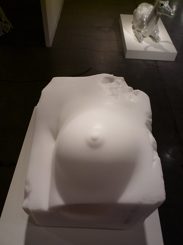 art fag city, Malia Jensen Untitled Salt Breast 1, 2009, art basel