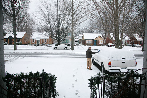 First snow in 2009