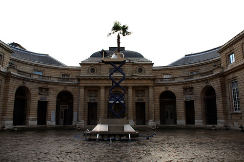 palm tree at monnaie de paris