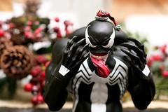 "Venom says ""Bah Humbuggerz"" (chanchan222) Tags: christmas toys 350d vinyl figure marvel canonrebelxt pvc venom bahhumbug canonef50mmf18ii danchan danielchan wwwchanofamericacom chanwaibun httplifeofplasticcom"