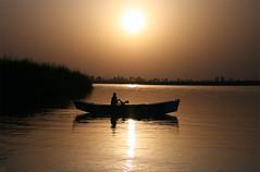 panjnad , pakistan (TARIQ HAMEED SULEMANI) Tags: pakistan sunset tourism trekking photography golden evening boat scenery hiking scene snaps rivers boating tariq bahawalpur panjnad abigfave riversofpakistan concordians sulemani