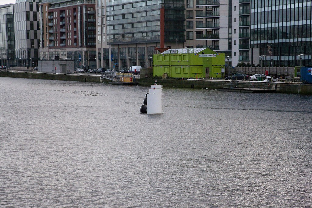 View From The Samuel Beckett Bridge