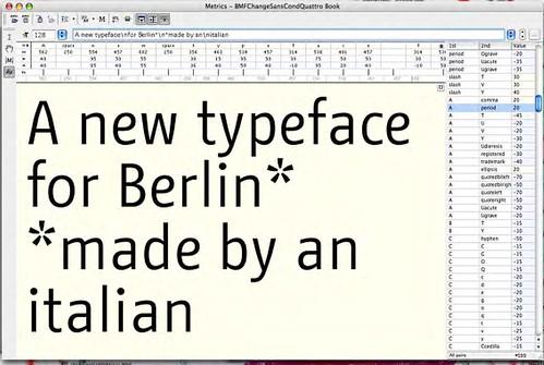 BMFChange typeface