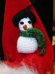 snowman ornament for Clover