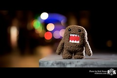#360 ~ Domo (Rick Nunn) Tags: colour canon toy bokeh vivid plush domo lincoln rar angy explored strobist fivedaysleft lincolnhassomeinterestingpeople