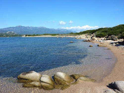 Entre Saline Soprane et Sottane, de longues plages de sable