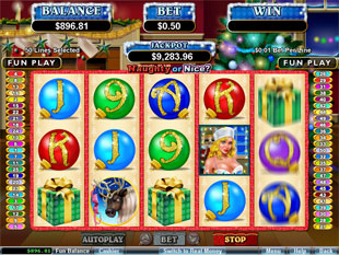 Naughty or Nice slot game online review