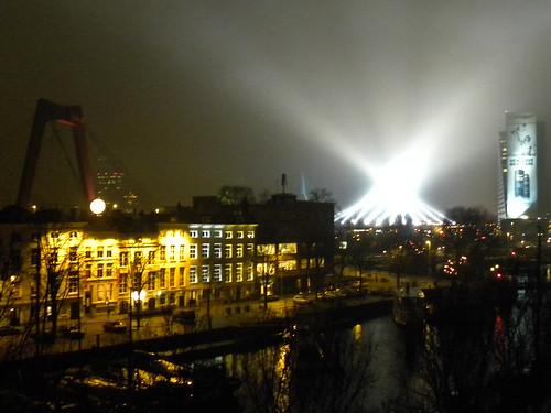 NYE Light Test or Alien invasion?
