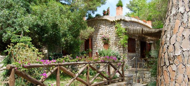 House on Capri Island