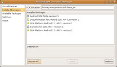 Pantallazo-Android SDK and AVD Manager -4