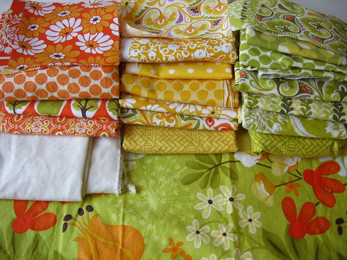 Fabrics for 2nd Central Park Quilt