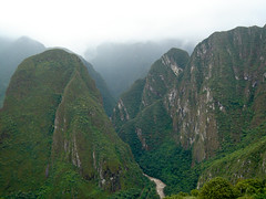 Mountains Surrounding Machu Picchu