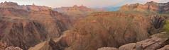 Colorado River (Scott Leonhart) Tags: arizona coloradoriver dusk grandcanyonnationalpark hikingtrail panorama panoramicpieces plateaupoint switchbacks