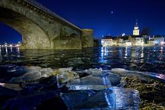 Ice (mattrkeyworth) Tags: kitzingen eis ice rivermain frozen germany ilce7r2 sonya7rii batis18 batis18mm winter batis2818
