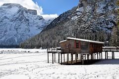 Braies (Sergio Pavan) Tags: dolomites italy italia alpi alps snow mountain montagna neve dolomiten valpusteria lago lake ice ghiaccio frozen braies