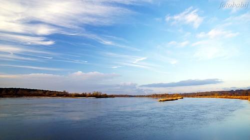 Kazimierski Park Krajobrazowy, Wisła jesienią  4