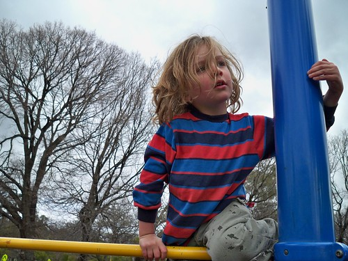 Cherub on the Monkey Bars