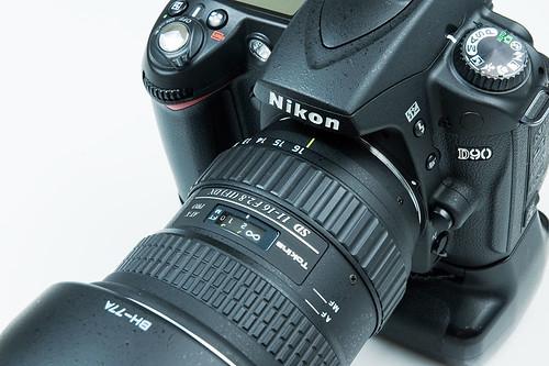 Nikon D90 with Tokina 11-16 f2.8