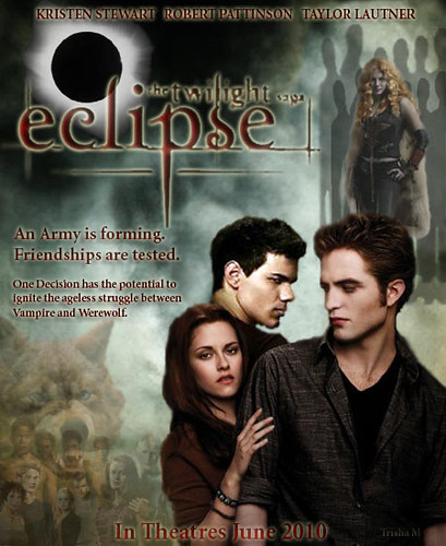 ECLIPSE Twilight-Saga movie poster (fanmade) by twilight-saga-fan-trish.