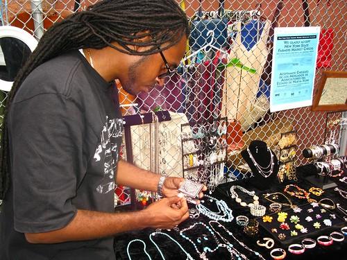 FranklinAv/Sterling Pl Flea Market 7/11-15