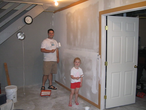 Painting the Basement