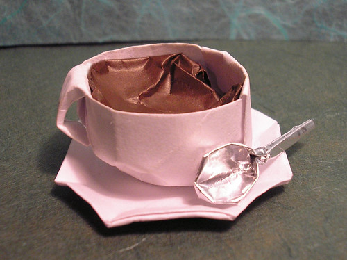 the origami forum � view topic origami tea cup