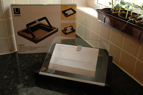 Prop Cookbook Stand with Packaging