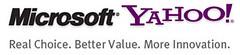 Microsoft Yahoo merge logo